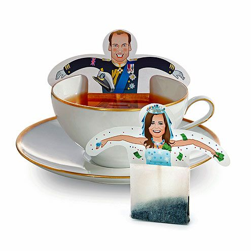 Will & Kate teabags! LOLS!