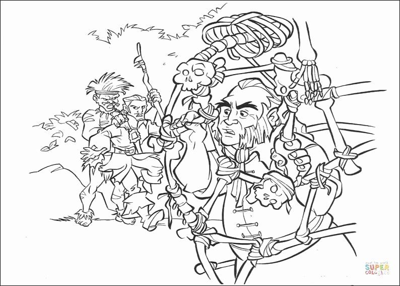 Pirates Of The Caribbean Coloring Page Awesome Mr Gibbs Coloring Page In 2020 Disney Coloring Pages Coloring Pages Fish Coloring Page