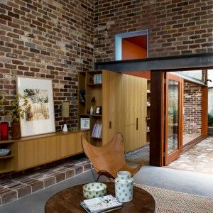 David Boyle uses reclaimed brick to build extension to a Sydney terrace