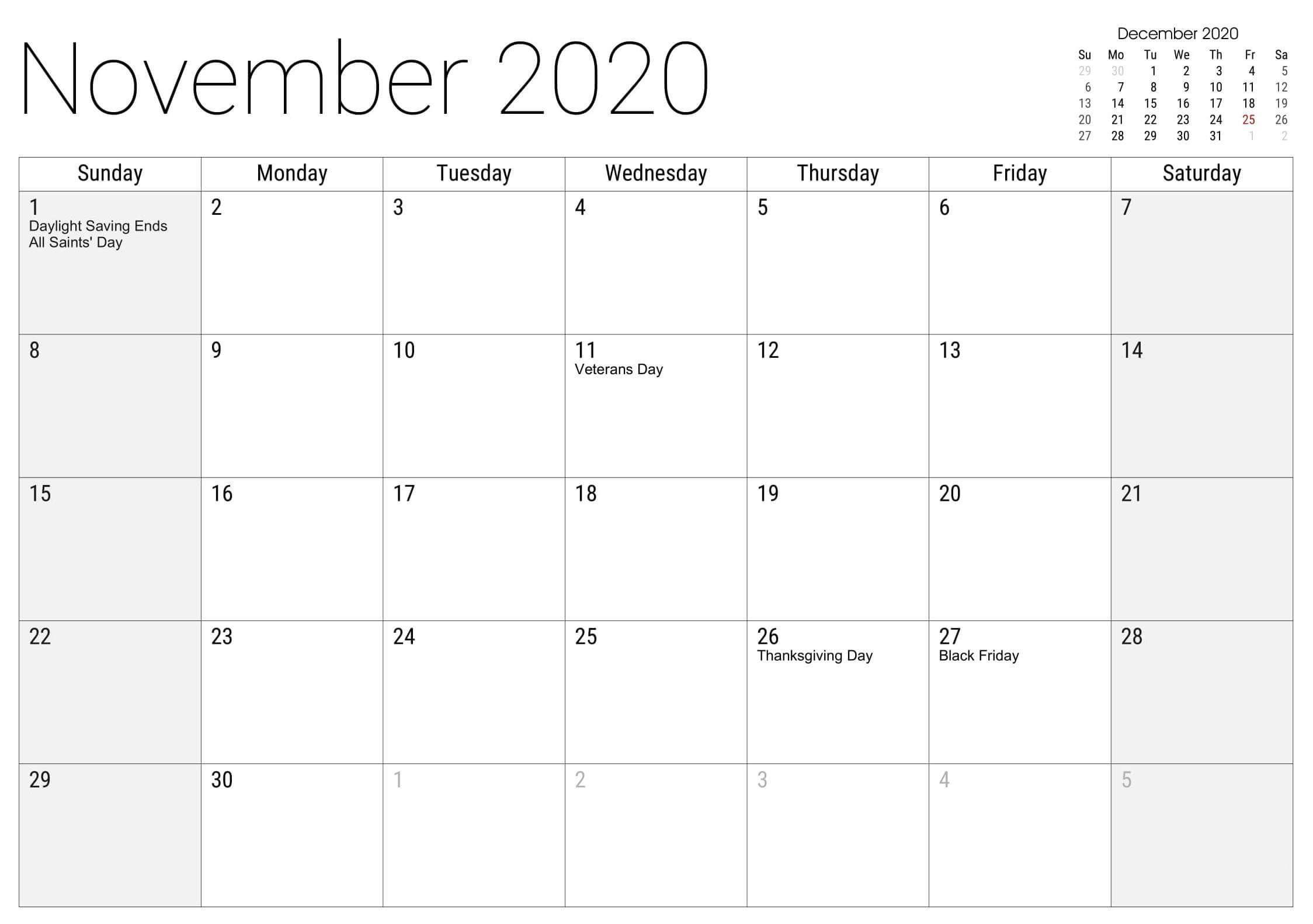 November 2020 Australia Holidays Calendar Holiday Calendar Australia Holidays November Holidays