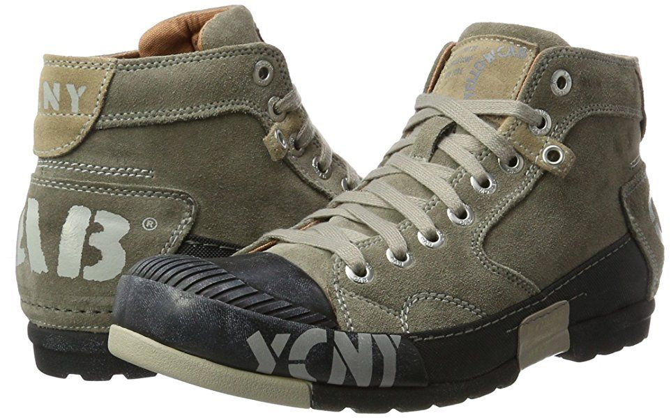 buy online a4140 357a2 Yellow Cab Men's Mud M High-Top Trainers, Grau (Dark Grey ...