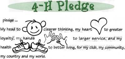 image relating to 4-h Pledge Printable referred to as Clover little one job 4-H 4 h, Crafts for small children, Assignments