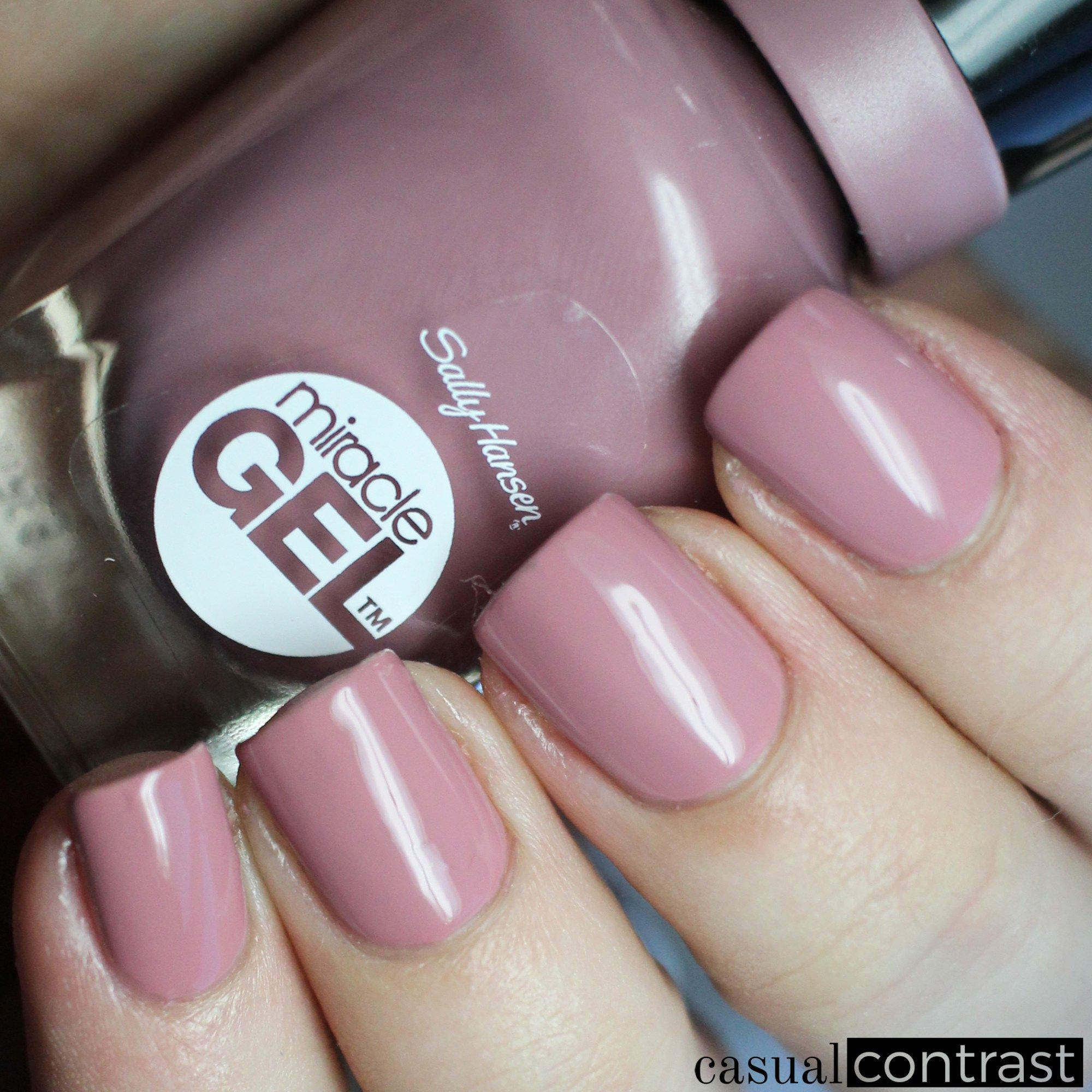 Sally Hansen Miracle Gel Make Me Mauve from the Festival Floral ...