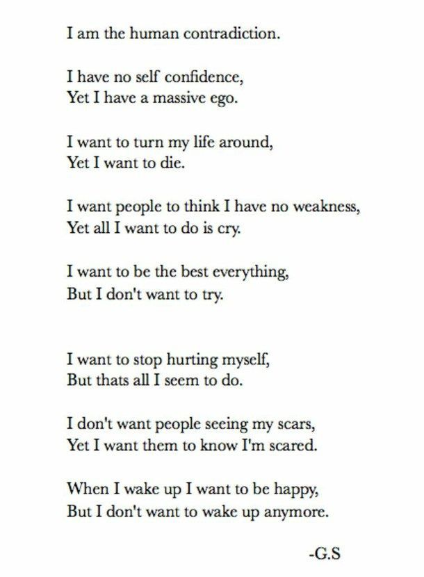 Boys Who Tumblr Quotes Depression Self Love Words T