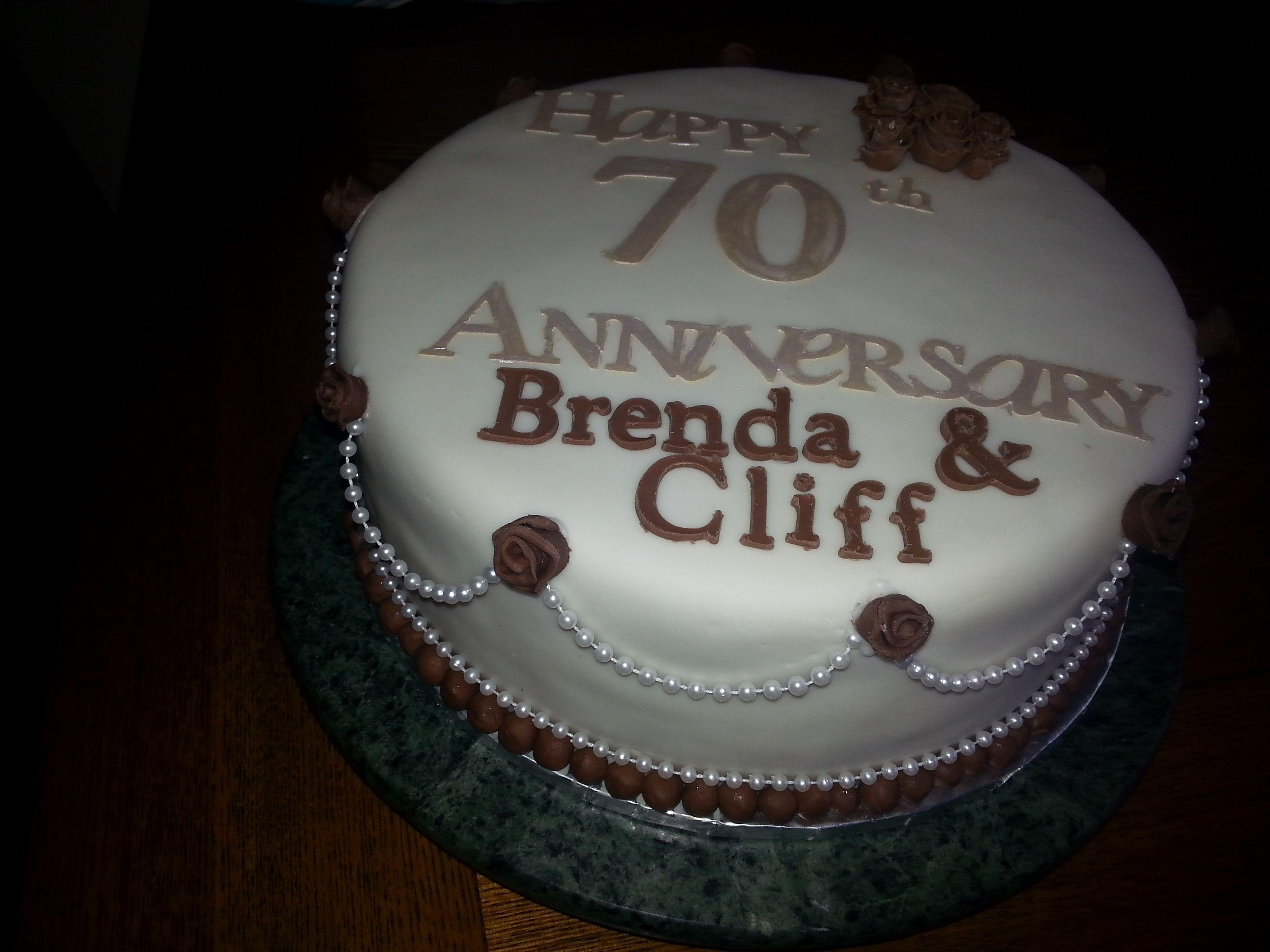 Th wedding anniversary my cakes pinterest cake