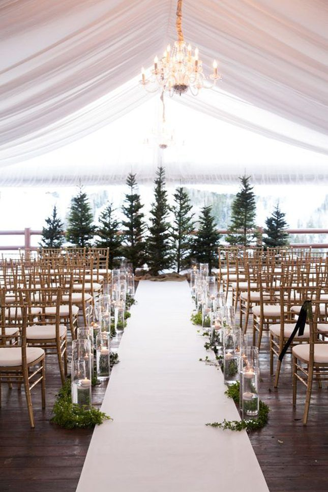 11 evergreen winter wedding decorations for that chic forest feel 11 evergreen winter wedding decorations for that chic forest feel brit co junglespirit Gallery