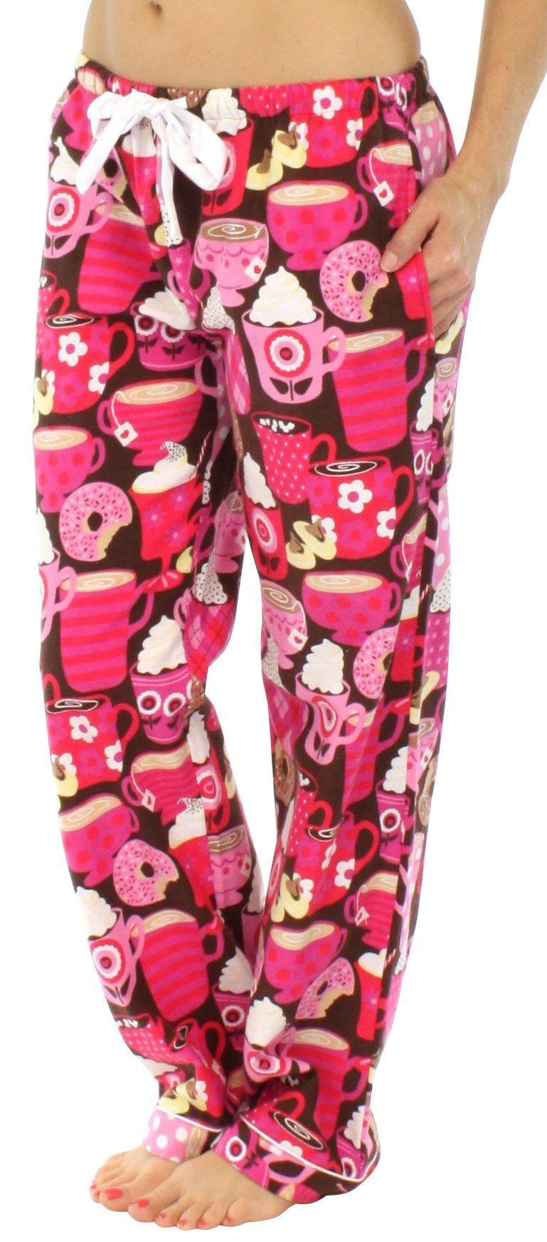 Flannel cardigan womens  PajamaMania Womenus Flannel Pajama Pants  Fashion  Pinterest