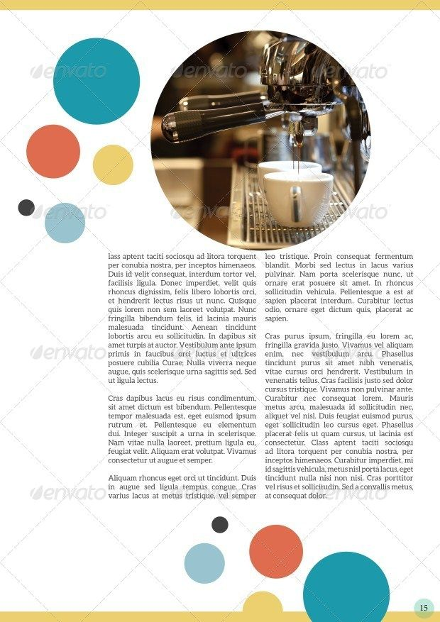 Circle Magazine Template-Indesign 24 Page Layout | Visual Diary ...