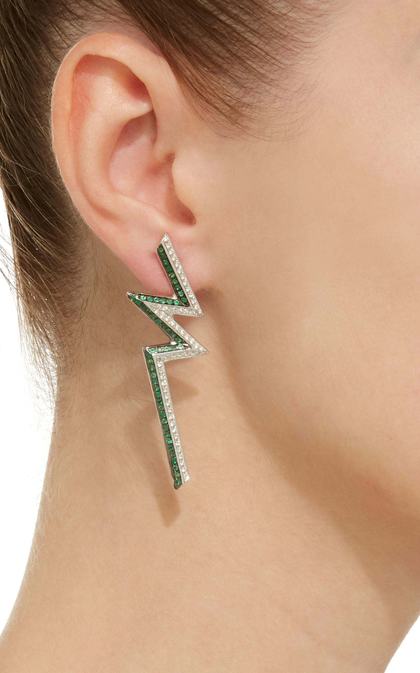 af6f56c43 Click product to zoom Run The Jewels, Emerald Earrings, Contemporary  Jewellery, Dress Me