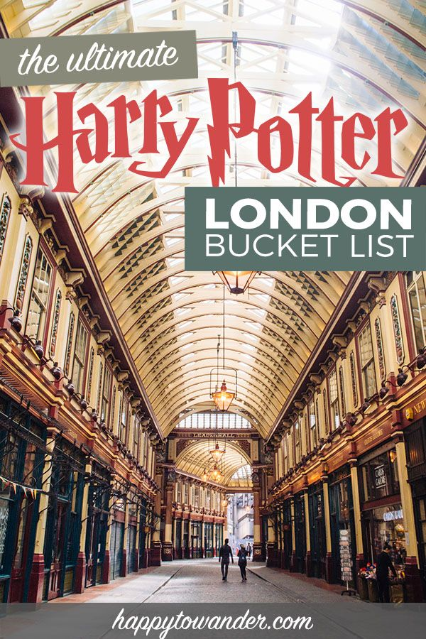 An epic master list of all the best Harry Potter things to do in London - a must read for anybody's Harry Potter bucket list! Includes Harry Potter filming locations in London, Harry Potter attractions, the Harry Potter set/studio tour, tips for getting tickets to Harry Potter and the Cursed Child, and much more. A must read before you travel to London. #london #england #harrypotter