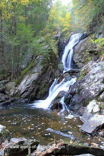 Campbell Falls, Berkshire County / New Marlborough, Massachusetts,