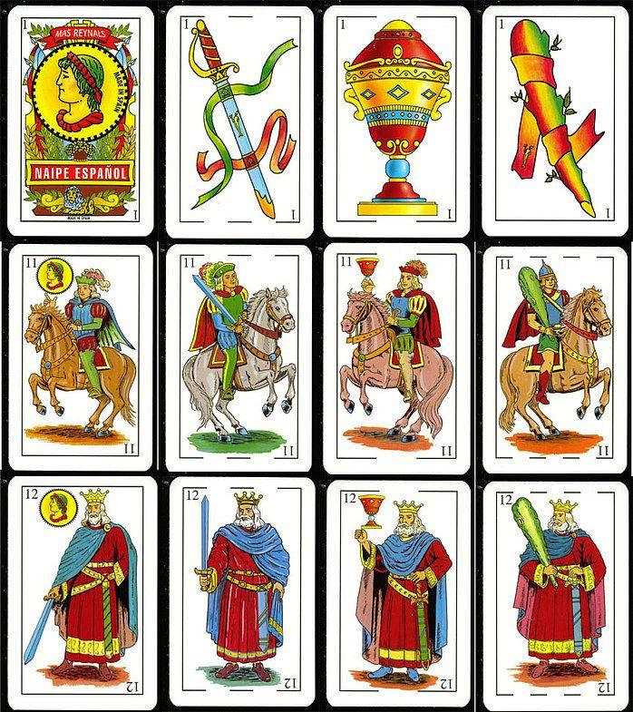 Испанские карты игральные как играть картинка казино автомат