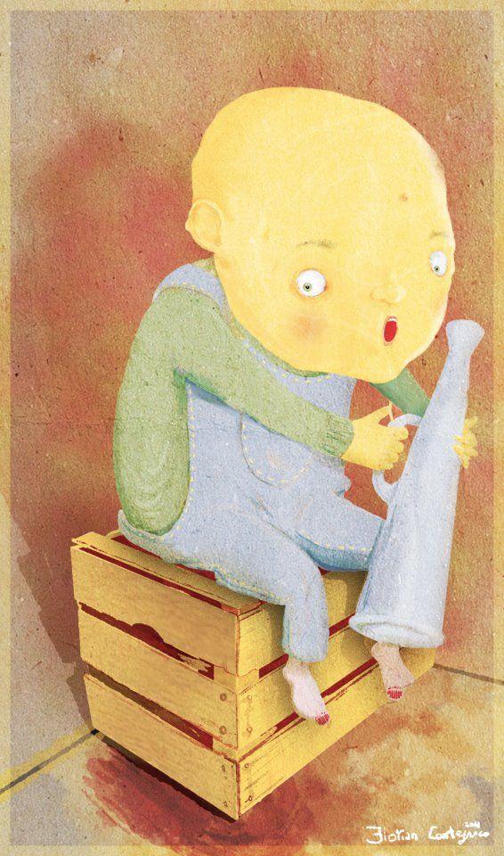 Ufficio Stampa, Florian Contegreco #illustration #illustrazione