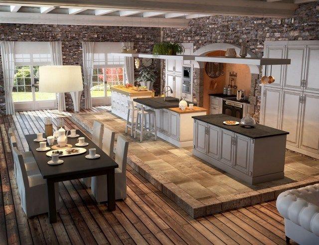 Modele De Cuisine Rustique Idees