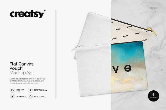 Download Flat Canvas Pouch Mockup Set Canvas Pouch Business Card Logo Mockup Free Psd