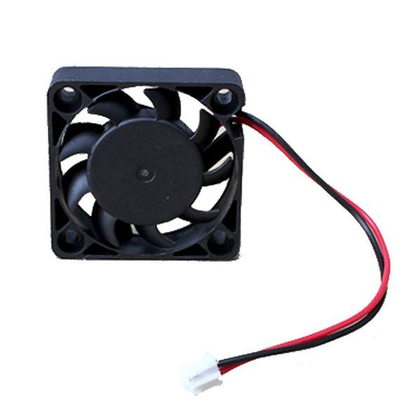 12v 2 Pin 40mm Computer Cooler Small Cooling Fan Pc Black F Heat
