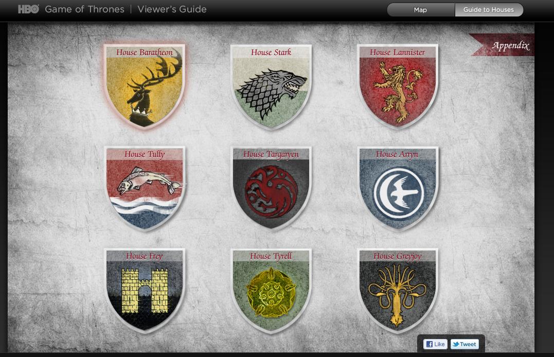 Game Of Thrones Seven Kingdoms Symbols Google Search