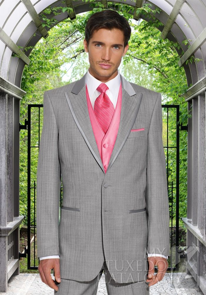 Jack's tux for prom, except with fuchsia instead of that pink ...