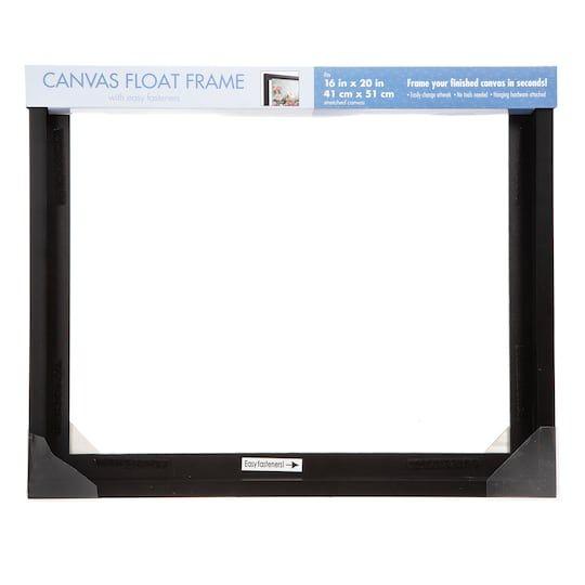 Darice Black Mcs 16 X 20 Canvas Float Frame 6 Pack Michaels