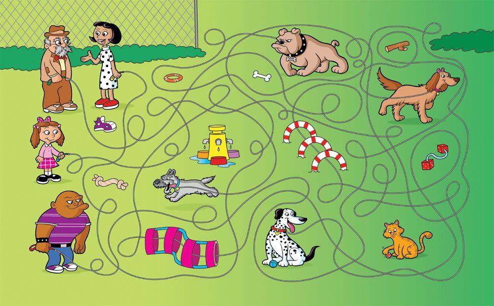 Игра путаница картинки для детей