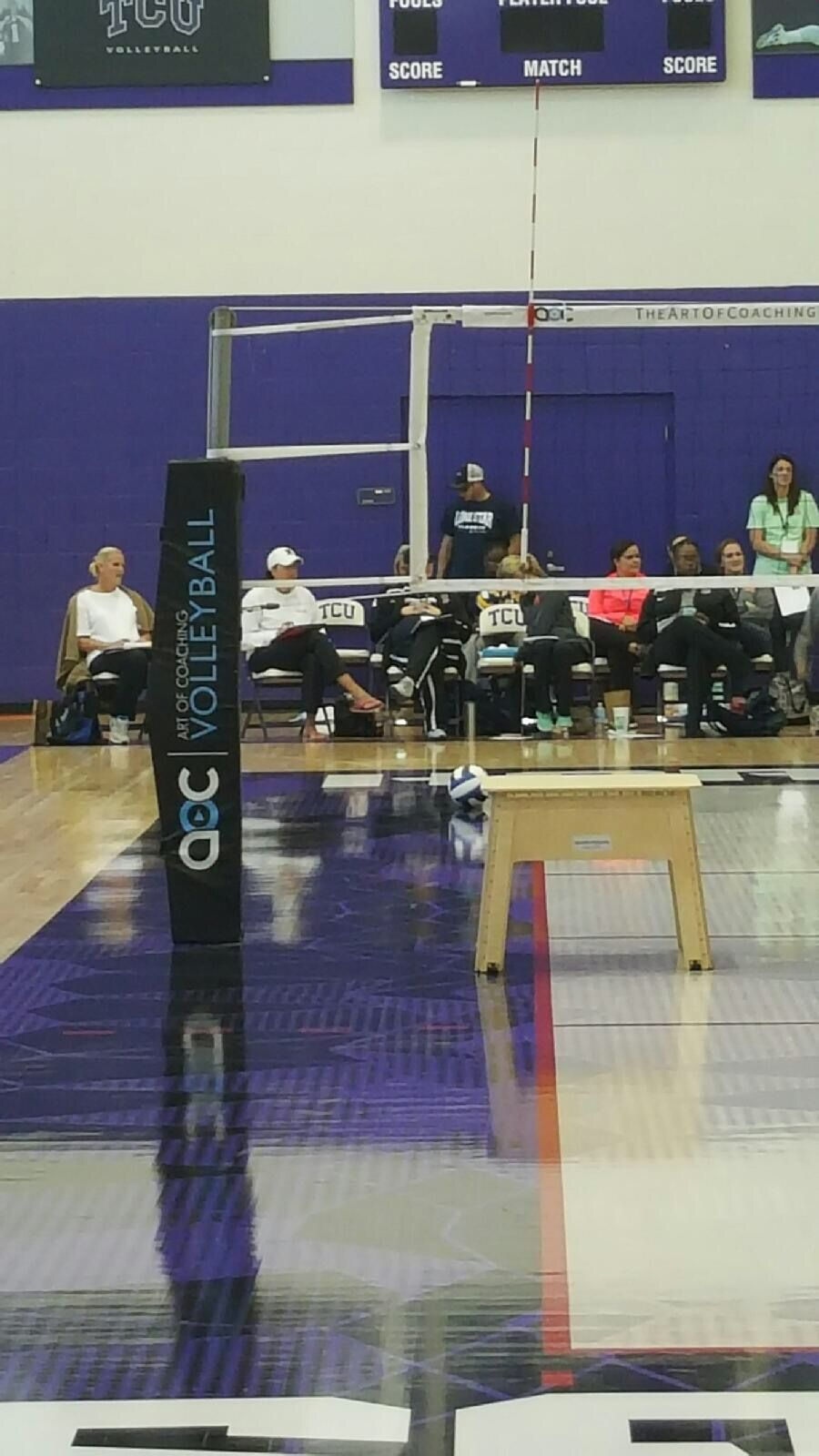 Art Of Coaching Volleyball Clinic At Tcu Coaching Volleyball Volleyball Usa Volleyball