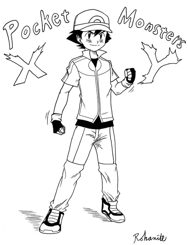 Ash Ketchum Xy Outfit By Rohanite On Deviantart
