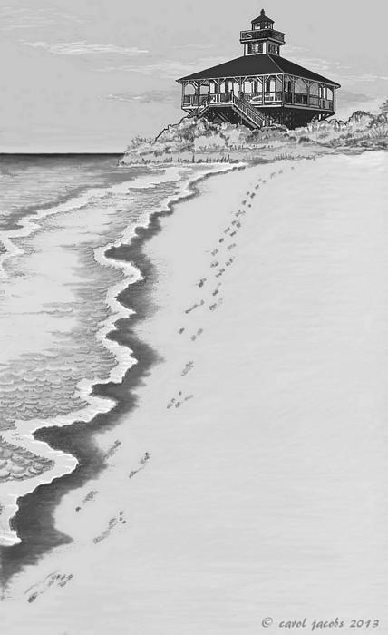 Footprints On Boca Beach by Carol Jacobs #beach, #boca