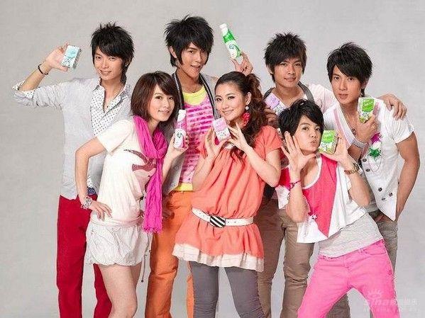 Taiwanese pop group Fahrenheit featuring S.H.E