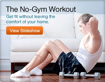Are you anti-gym workouts? There are effective ways of exercising at home!