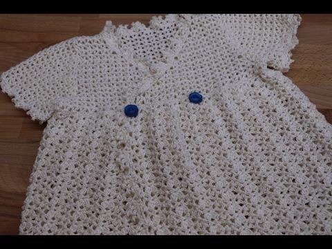 Vestido Crochet Para Niña De 1 Año Parte 12 Youtube