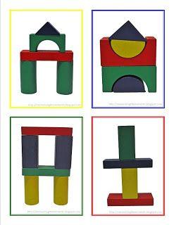 building block templates preschool pinterest building