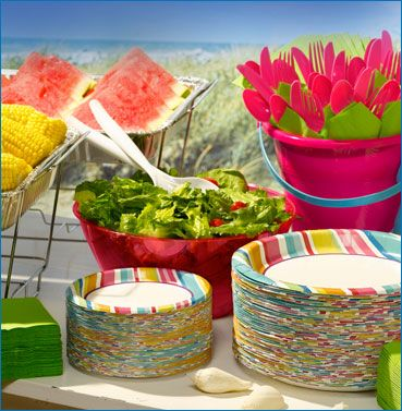 Summer Party Decorations Party Theme Ideas Small House