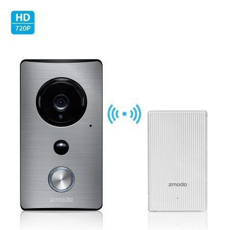 Zmodo Greet WiFi Video Doorbell with Zmodo Beam Smart