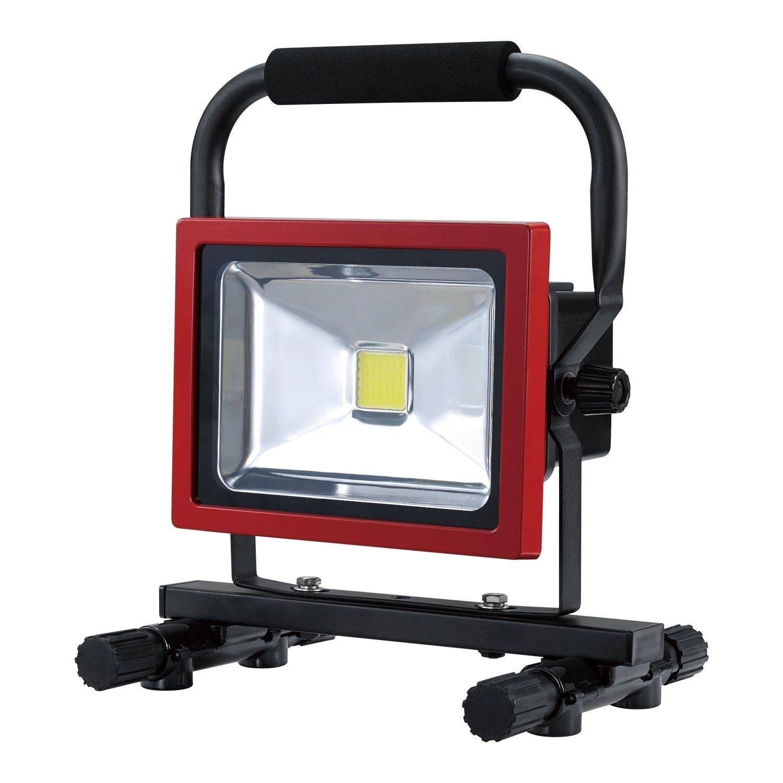 Ultra Bright Rechargable Led Worklight 20w Li Ion Battery