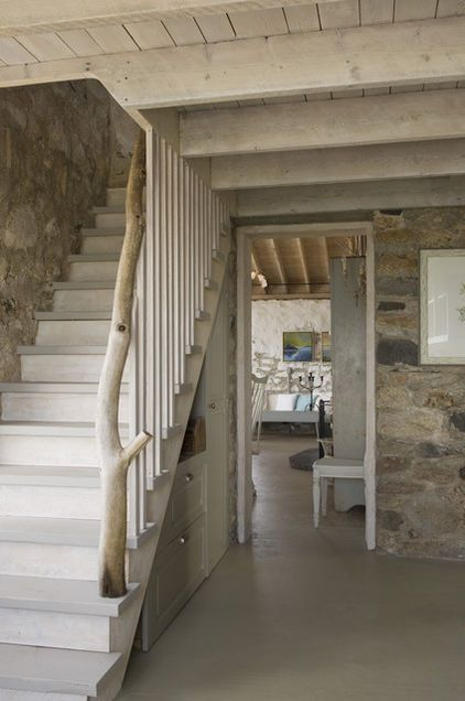 traditional staircase by Knickerbocker Group