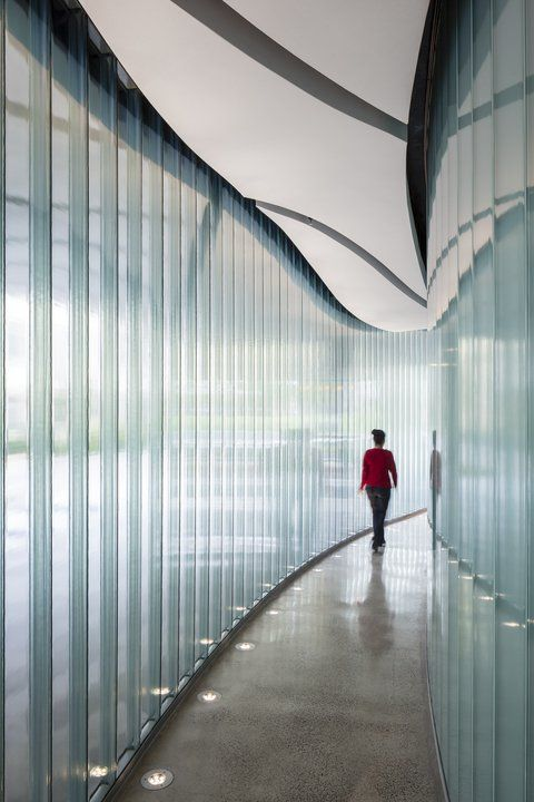 Channel Glass Wall System Pilkington Profilit From