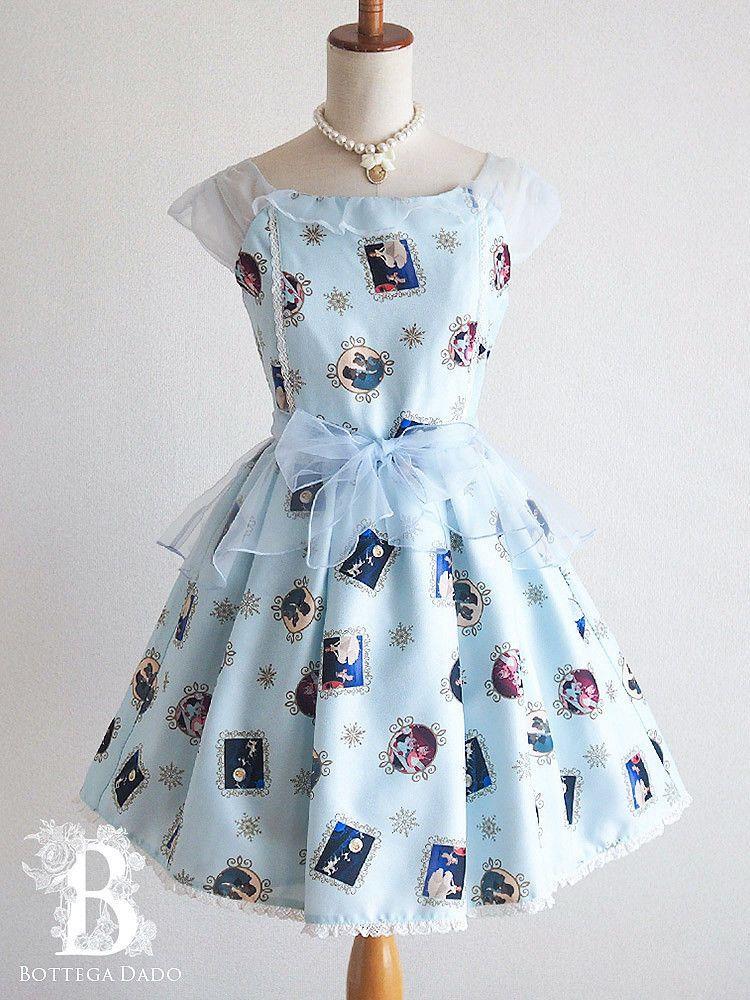 a25e839cad478 🌹LIZ LISA🌹Disney Cinderella Dress Party Blue LARME Hime Lolita Japan-M  E005  Liz Lisa  Disney  Cinderella  Bottega Dado
