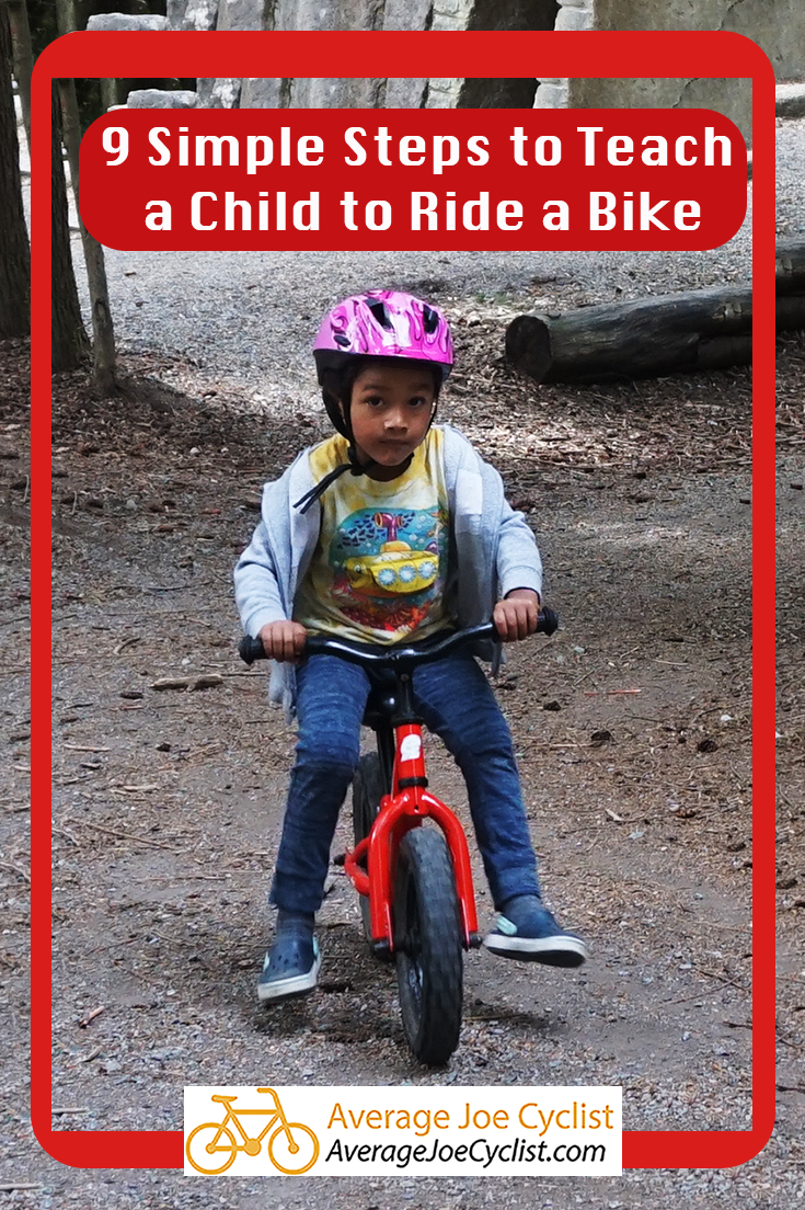 9 Simple Steps To Teach A Child To Ride A Bike Cycling Workout