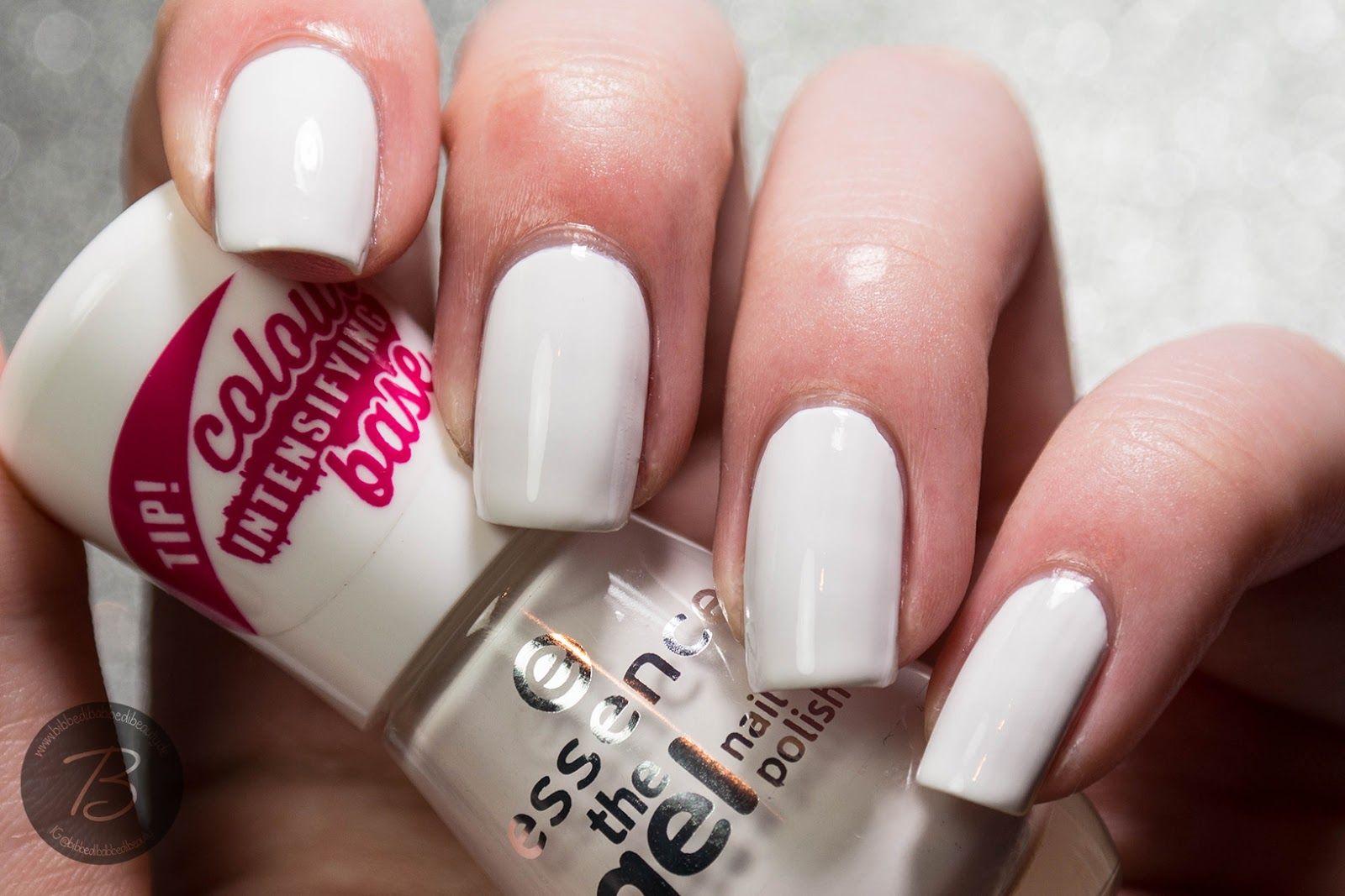 Essence - The gel - 033 - wild white ways | Empties <3 | Pinterest ...