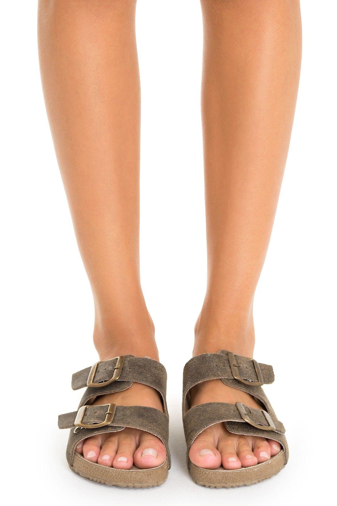 Rasteira birken rústica - Calçados | Dress to