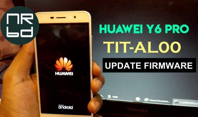 Huawei Y6 Pro (TIT-AL00) C567B111 Update Firmware