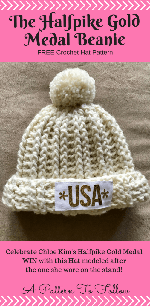 The Halfpike Gold Medal Beanie A Pattern To Follow Pinterest