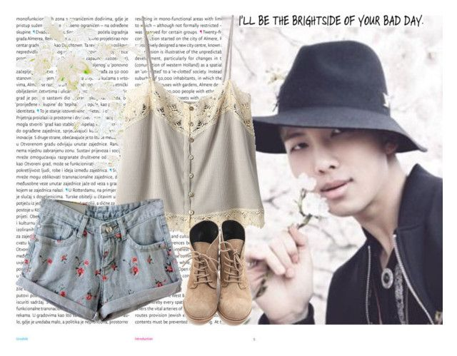 """""""Rap Monster"""" by hitthisfeeling ❤ liked on Polyvore featuring Oris and Bilitis dix-sept ans"""