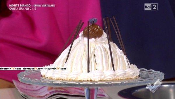 torta Montblanc