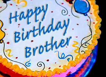 Happy Birthday Brother With Images Happy Birthday Brother Cake