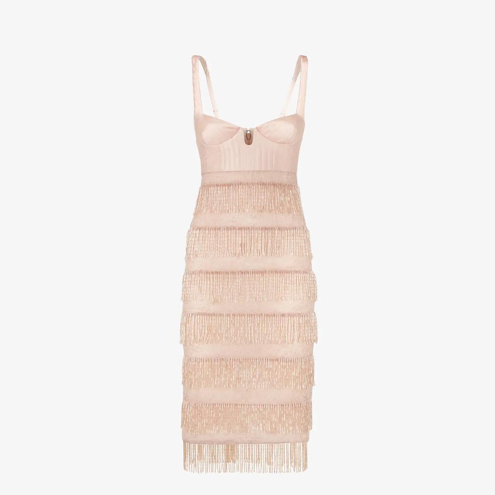 Pink Silk And Lace Dress Dress Fendi Fendi Online Store In 2021 Fendi Dress Luxury Fashion Dresses Lace Dress [ 1000 x 1000 Pixel ]