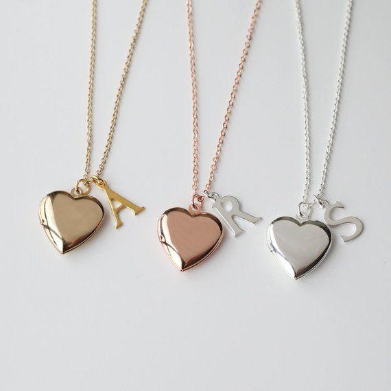 Collier pendentif petit coeur doré avec strass amour love femme IDÉE CADEAU