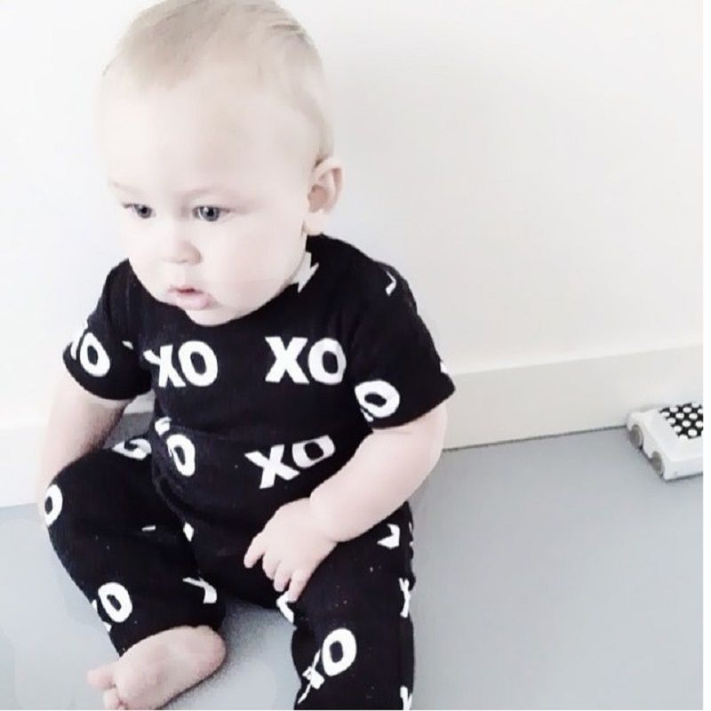$4.85 (Buy here: http://appdeal.ru/46at ) Bear Leader Summer 2016 2pcs Newborn Infant Baby Boys Kid Clothes T-shirt Tops + Pants Outfits Sets 0-24 Children's Clothing Set for just $4.85