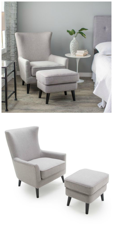 belham living wool herringbone occasional chair and