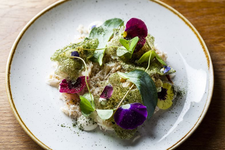 Dorset Crab From Tom Cenci Duck Waffle Crab Dishes Vegetable